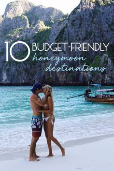 Wedding Ideas On A Budget 10 Budget-Friendly Honeymoon Destinations - Even after a big wedding, there's no need to skimp on a honeymoon. Here are some budget-friendly honeymoon destinations around the world. Honeymoon Tips, Honeymoon Vacations, Best Honeymoon Destinations, Honeymoon Planning, Thailand Honeymoon, Caribbean Honeymoon, Secluded Honeymoon, Florida Honeymoon, Greece Honeymoon