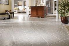 Crisp, clean flooring.