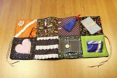 Quilts & Patchwork - Einzigartige Nesteldecke (Patchworkdecke) klein - ein Designerstück von Ebert79 bei DaWanda