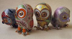 porcelain sculpture by Anya Stasenko & Slava Leontyev