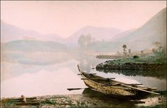 Imperial Palace and Lake at Hakone || Japanese pictorialism at its best