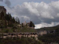 Inicio de la Senda de los Hocinos, en Cuenca