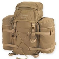 A bag to end all bags! Versatile, solid, and roomy. Good for camping and hikes and getaways and more.