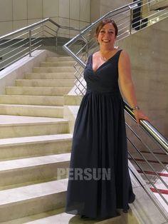 avis de robe bleu longue pour mariage col en V Prom Dresses, Formal Dresses, Mi Long, Rose, Pastel, Change, Style, Fashion, Dress Blues