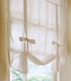 DIY TUTORIAL MAKE YOUR OWN NO-SEW DRAPE SHADE CURTAINS LIKE POTTERY BARN cheer and cherry