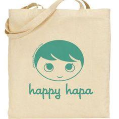 Happy Hapa Tote Bag