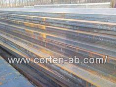 JW Weather resistant steel: S235J0W steel plates