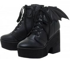 0950a47f7e0 ... the Iron Fist Bat Wing Boots will have you stomping the mean streets!  You ll stand out in the crowd with these super high platforms.