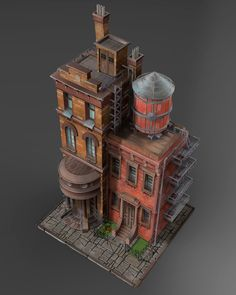 ArtStation - buildings, Max Waterdrunk