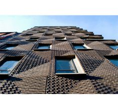 290 Mulberry Street Condiminiums, New York, Ny, by shop architects; the bricks are integral to a precast concrete panel