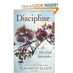 Discipline: The Glad Surrender. Reread after enjoying it many years ago. Still so much to learn from this book.