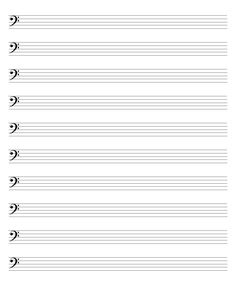 BlankSheetMusic  Blank Piano Sheet Music Template   Days Of