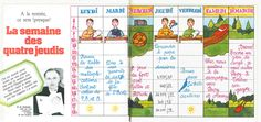 Toujours d'actualité: la semaine de 4 jours à l'école? Echo de la Mode 20/05/1972