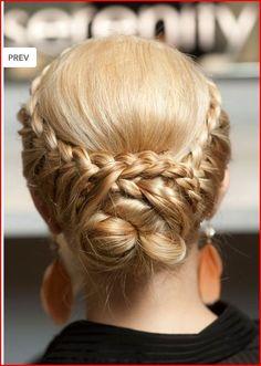 to columbus & beyond: Hair Tutorial: Braid to Bun Down Hairstyles, Pretty Hairstyles, Wedding Hairstyles, Style Hairstyle, School Hairstyles, Natural Hair Styles, Short Hair Styles, Braided Hairstyles Tutorials, Twist Braids