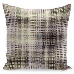 Béžová návliečka na vankúše s hnedým motívom Throw Pillows, Home Decor, Toss Pillows, Decoration Home, Cushions, Room Decor, Decorative Pillows, Decor Pillows, Home Interior Design