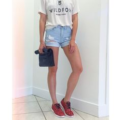 Running around town in our Jag Sneaker $38 + Fold over Clutch $45 | Soulshoetique.com