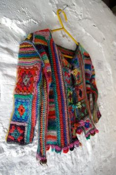 child's crochet jacket - Sarah McLeod