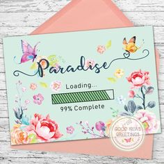 A cute reminder of whats coming soon! Professionally printed on bright glossy card-stock. Comes with bright colorful envelope to make it even more cheery Jw Pioneer, Pioneer Gifts, Pioneer School Gifts Jw, Jw Gifts, Craft Gifts, Jw Service, Envelope Art, Paradis, Diy Cards