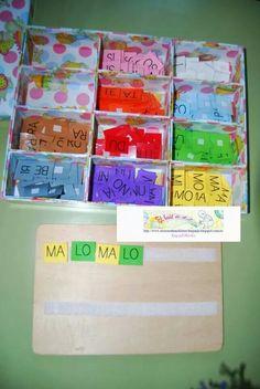 Caja sílabas