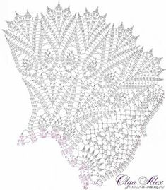 Ravelry: Grand Lace Tablecloth pattern by Olga Gulidova