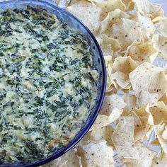 Hot artichoke and spinach dip!! Yummy