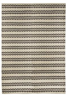 Vallila Interior CM000030-01 Teppichl�ufer Leopardi, 140 x 200 cm, beige / schwarz