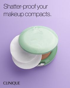 Smart Does More: Place cotton pads in your powder compact to prevent breaking during travel.