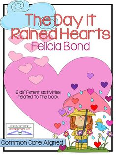 Book Extension: The Day it Rained Hearts (Comprehension Ac
