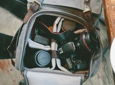 Showin' Some Love: My ONA Camera Bag - A Thought For Food
