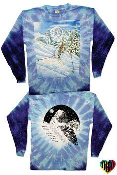Grateful Dead   Powderman - Tie Dye Love Tie Dye T-Shirt