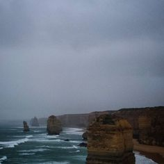 We made it! #12apostles #victoria #australia by jacquelinemareelindsay http://ift.tt/1ijk11S