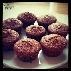 Hazelnut muffins http://www.flexiblevegan.com/