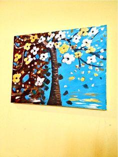 Tree painting,