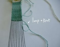 Woven Bracelet : 8 Steps (with Pictures) - Instructables Diy Bracelets Loom, Thread Bracelets, Woven Bracelets, Handmade Bracelets, Tapestry Weaving, Loom Weaving, Hand Weaving, Types Of Weaving, Overhand Knot