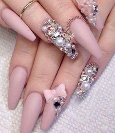 nail polish nails pink matte polish colorful