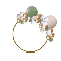 This Balloon Garland isa 2 meter balloon garland that can be hung up, suspended or... Metallic Balloons, Rose Gold Balloons, Confetti Balloons, Balloon Shop, The Balloon, Balloon Bouquet, Balloon Garland, Ballon Arch, Tassel Garland