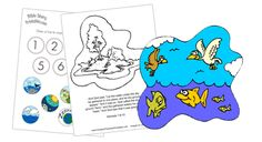 Free Creation Coloring Pages! Days of Creation Bible Coloring, one sheet for each day! Make a booklet for children to learn and read the story of creation! Bible Resources, Bible Activities, Preschool Activities, Creation Bible, Creation Crafts, Christian Crafts, Christian Kids, Creation Coloring Pages, Devotions For Kids