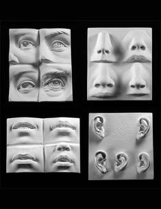 Facial Features Set