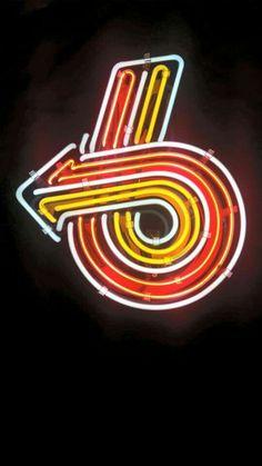 Turbo 6 neon sign