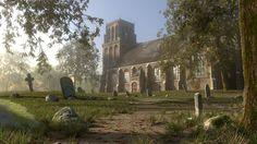 The Graveyard, rob tuytel on ArtStation at https://www.artstation.com/artwork/vEqk6