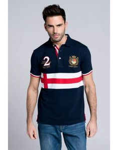 Valecuatro polo cruz azul marino Polo Fashion, Mens Fashion, Polo Shirt Design, Polo Rugby Shirt, Polo Outfit, Jean Jumper, Camisa Polo, Nike Outfits, Shirt Designs