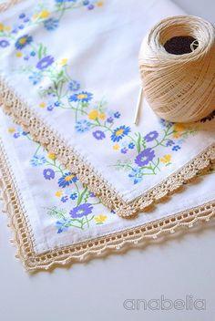 Puntilla en crochet para cortina mis tejidos pinterest - Puntillas para cortinas ...