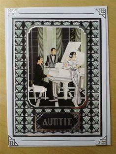 Art Deco Birthday Card | docrafts.com