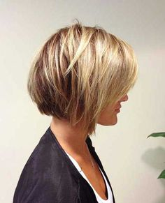 Short Layered Bob Cuts | The Best Short Hairstyles for Women 2016