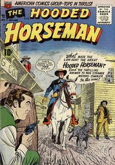 Hooded Horseman #21 - Comic Book Cover Poster – Available Now: http://aimcollectibles.blogspot.com/2015/10/hooded-horseman-21-poster.html