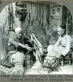 Damascus blacksmith