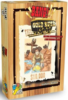 Bang! Gold Rush Expansion Card Game From daVinci Games Emiliano Sciarra #DaVinciGames #CardGame