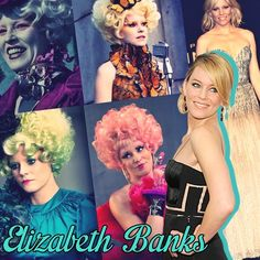 Well it seems like Mrs. Banks has played her last scene of being Effie. Thank you Elizabeth Banks for being our Effie Trinket! It's sad to see that all these characters are almost done. Soon we will hear about Jennifer Lawrence filming her last scene as Katniss and that's a little sad.