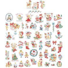La grande histoire de Noël Vintage N°3 : 54 motifs