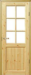 フィンランドパイン木製内部ドア 枠・ハンドル金物付き47,000円